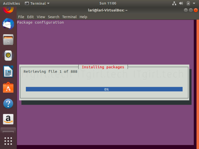 KDE's package configuration