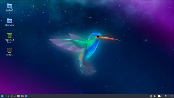 The Lubuntu desktop