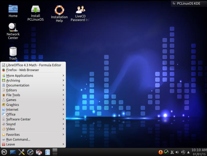 PCLinuxOS, a lightweight Linux distro