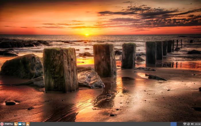 The Peppermint OS desktop