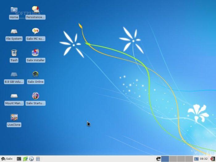 Salix OS, a lightweight Linux distro