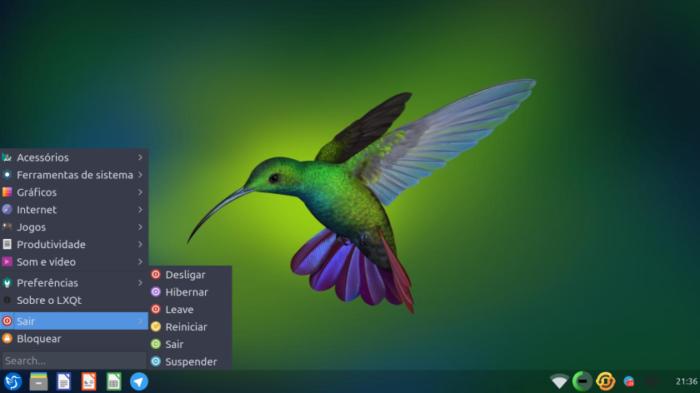 Lubuntu, a lightweight Linux distro